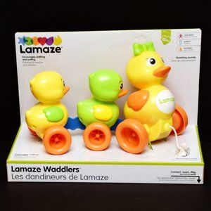 Lamaze Waddlers Duck Pull Toy with Quacking Sounds